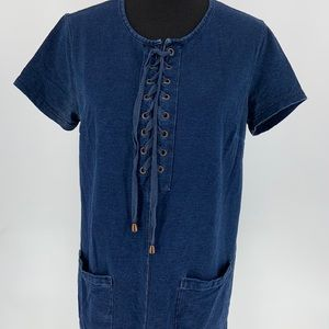Forever 21 denim dress size large GUC